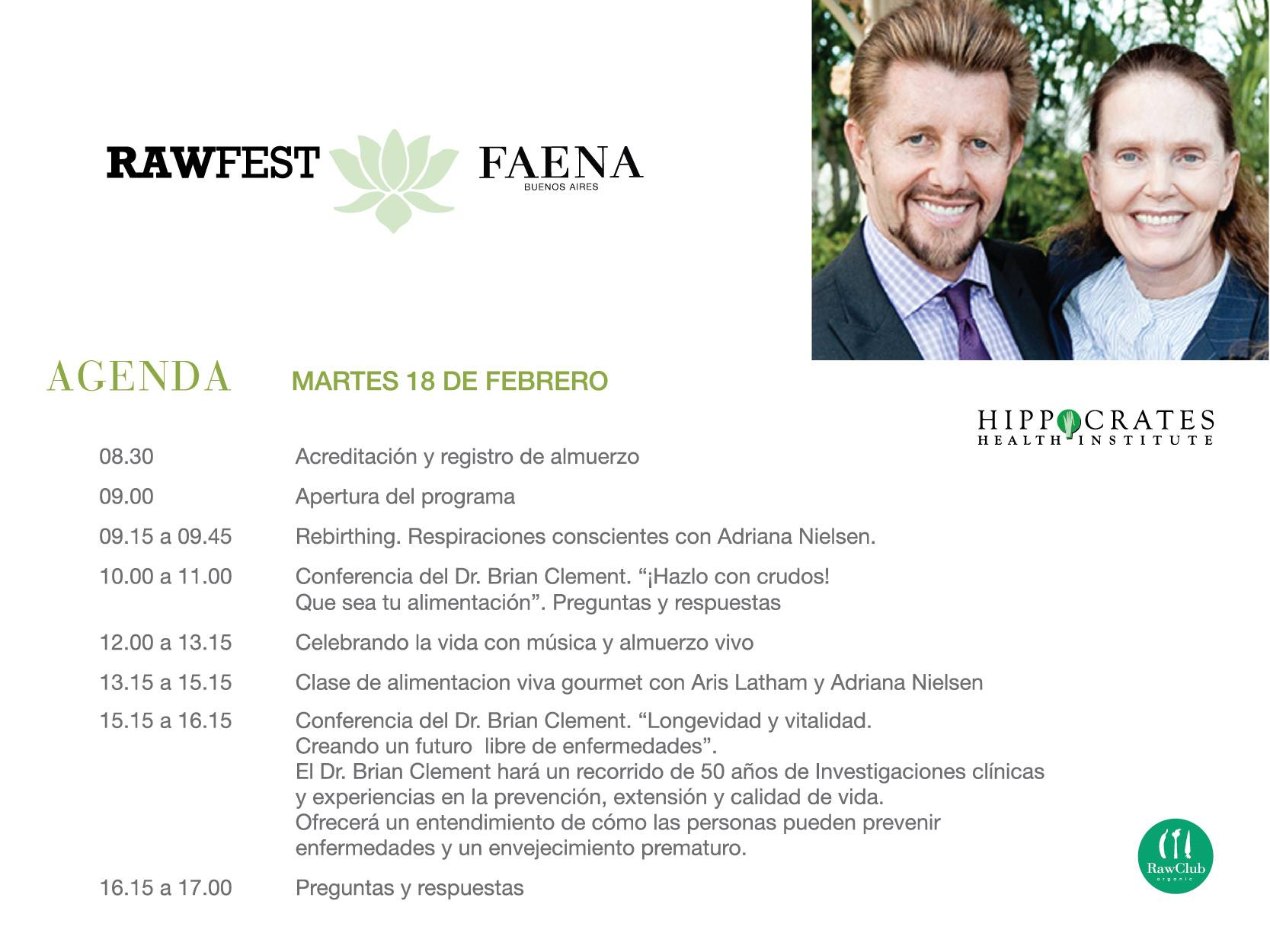 rawfest - martes