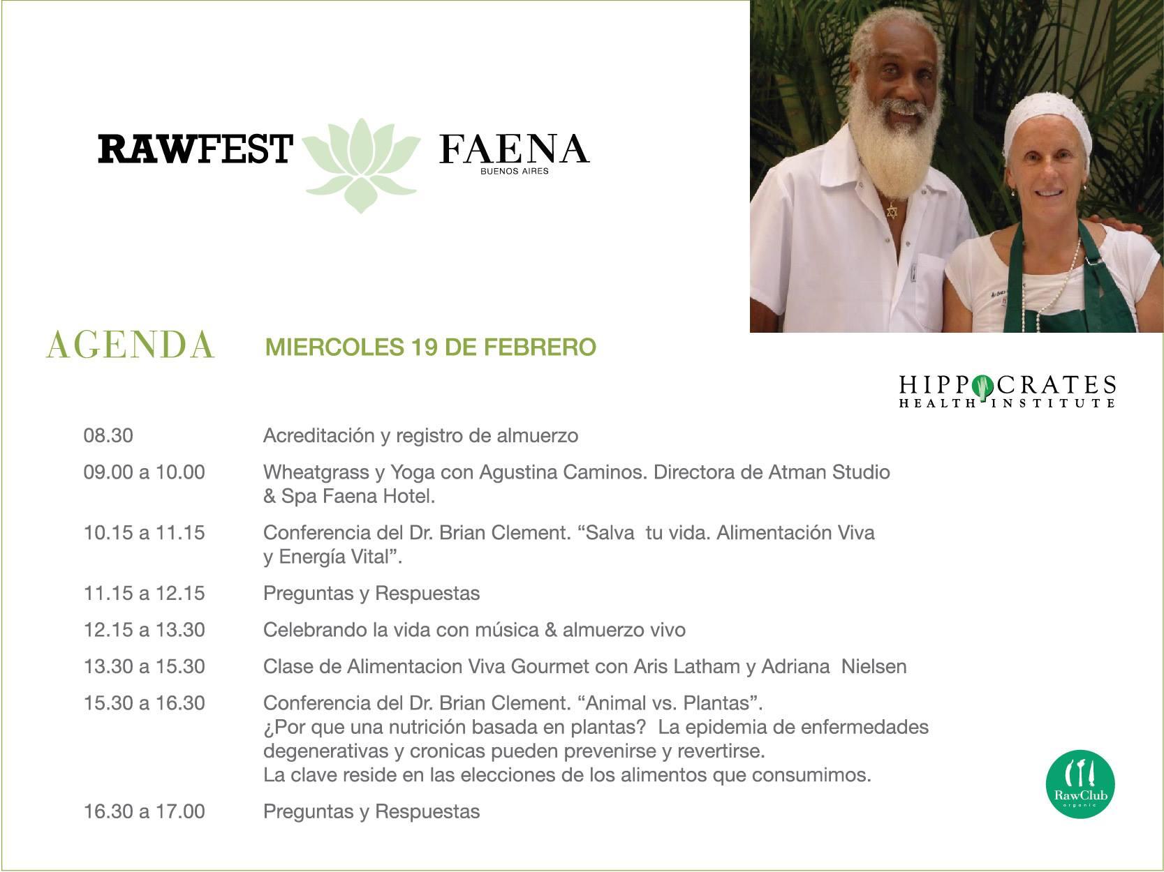 rawfest - miercoles