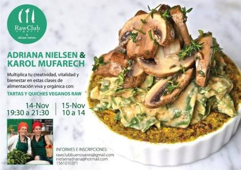 Tartas y Quiches con Adriana Nielsen y Karol Mufarech